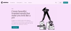 Content promotie via MailChimp