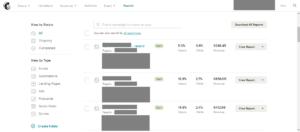 MailChimp voorbeeld statistieken emailmarketing