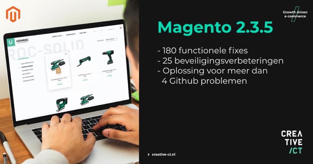 Magento 2.3.5 visual