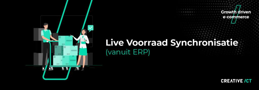 B2B webshop - live voorraad synchronisatie