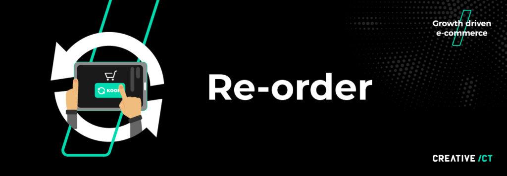 B2B webshop - re order