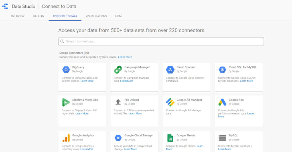 Google Data Studio voor SEO rapportage