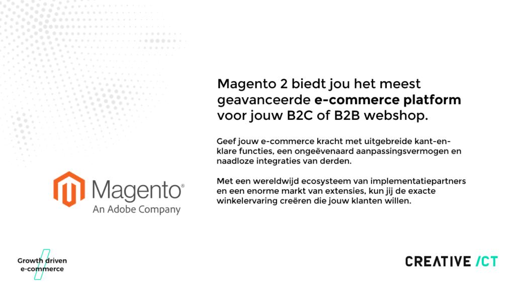 Het nieuwe Magento 2 platform