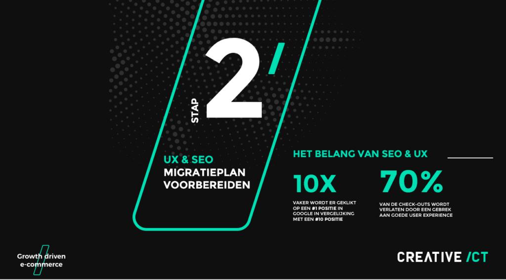 Magento 2 migratie - Stap 2 - UX & SEO migratieplan voorbereiden