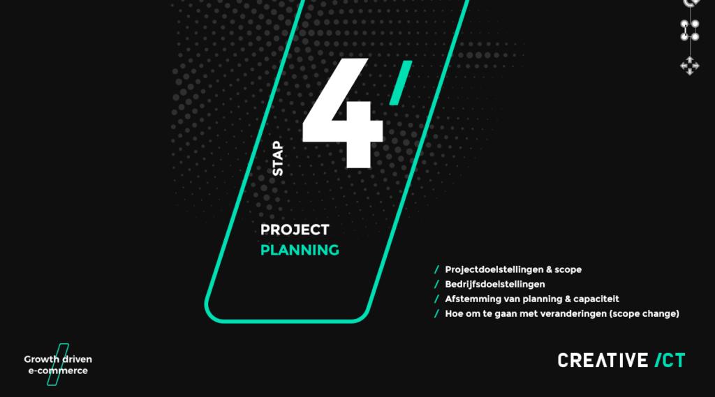 Magento 2 migratie - Stap 4 - Projectplanning