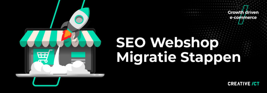 SEO webshop migratie stappen Magento 2