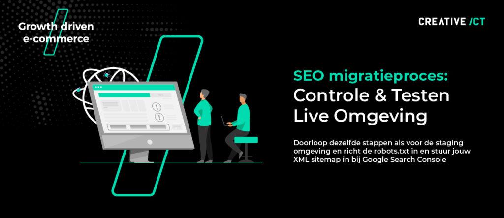 seo migratie webshop proces magento 2 - live omgeving
