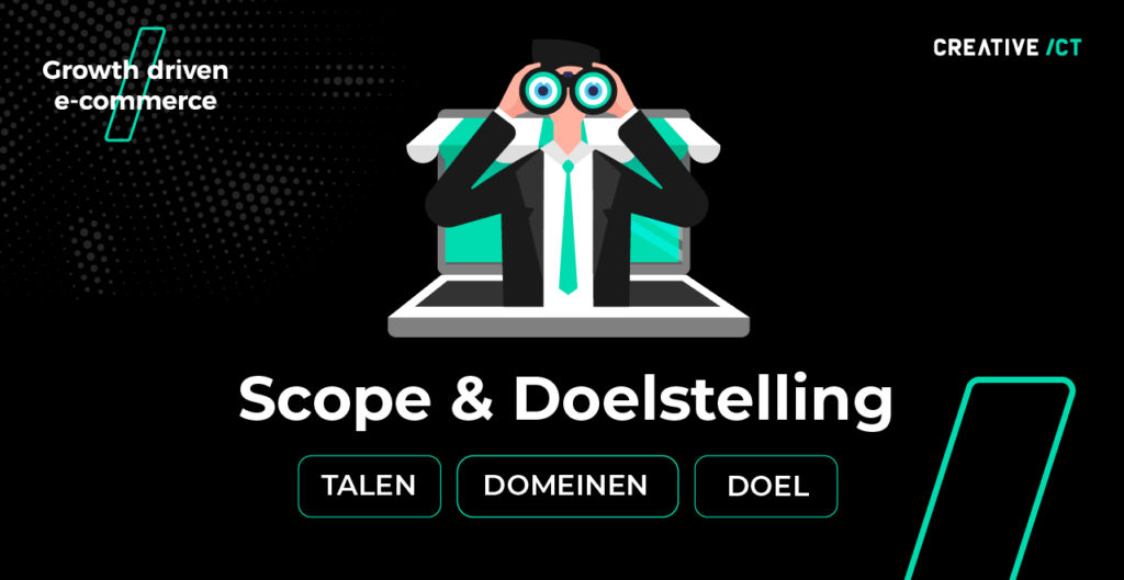 seo migratie webshop proces magento 2 - scope en doelstelling